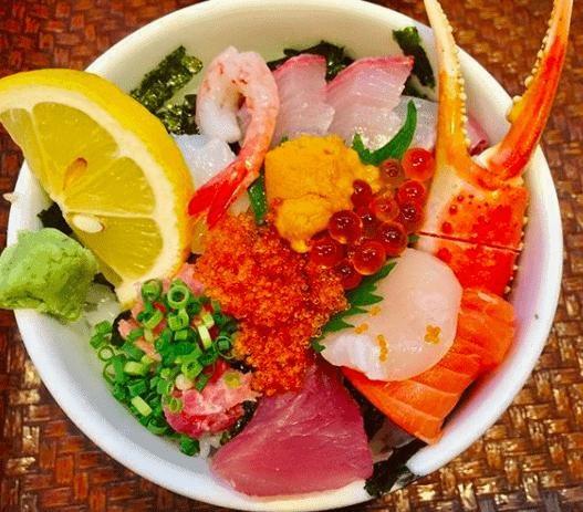 日の出海鮮丼