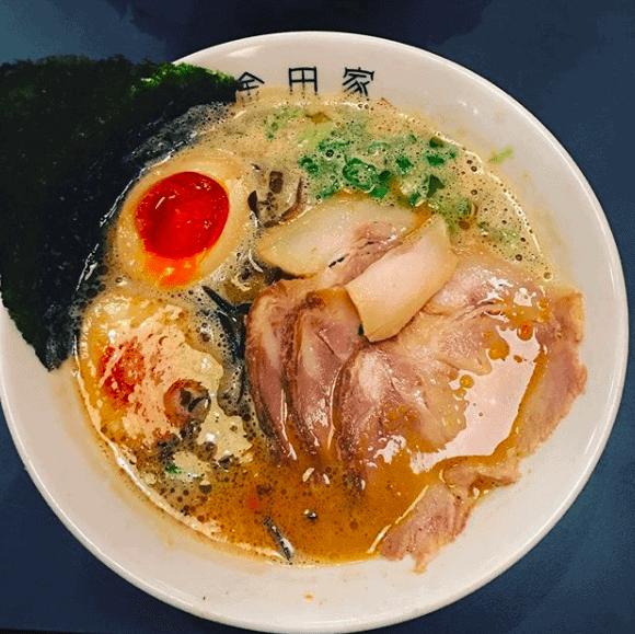 福岡グルメの金田家ラーメン