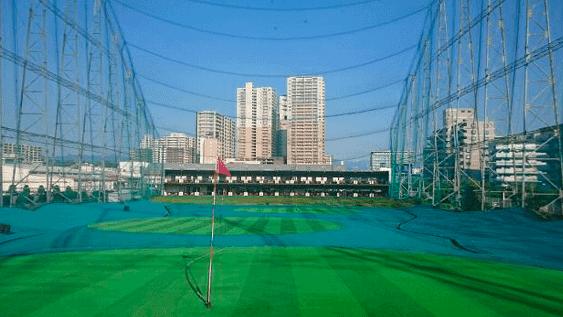 福岡の打ちっぱなしゴルフ練習場-エスタ香椎ゴルフガーデン