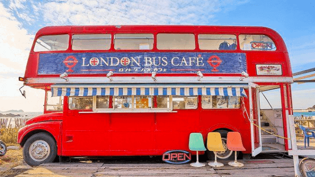 ロンドンバスカフェ外観