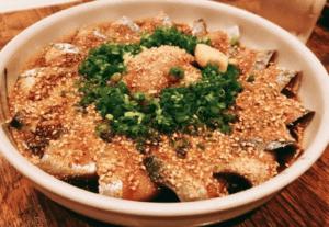 博多ランチ-ゴマサバ