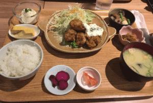 七色食堂 博多駅のランチ