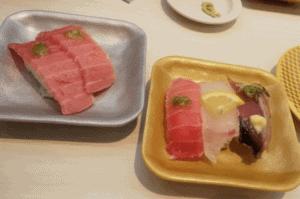 魚べいの博多ランチ