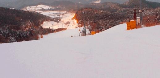 福岡のゲレンデ天山リゾートスキー