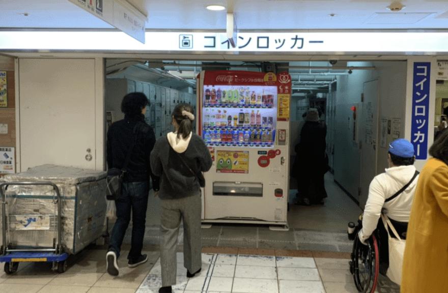 マイング博多駅のコインロッカー