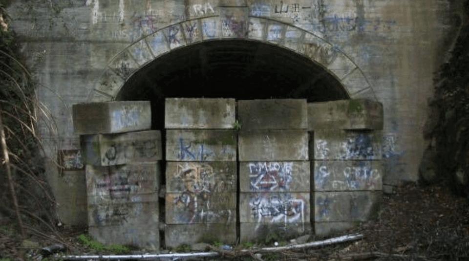 福岡心霊スポット:旧犬鳴トンネル
