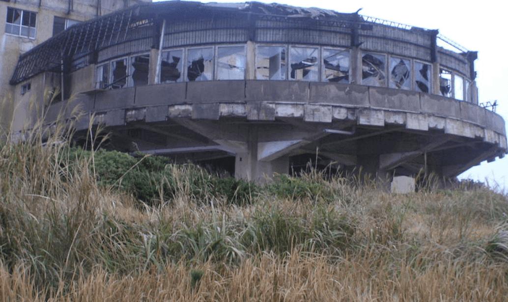 福岡の廃墟:串崎ケープホテル