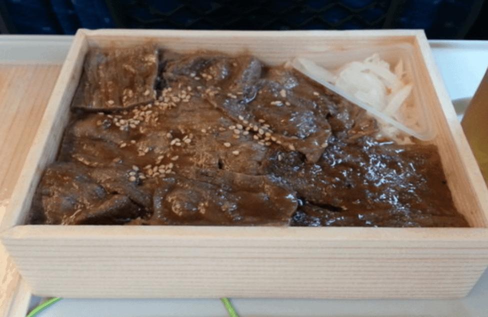 駅弁:博多和牛焼き肉弁当