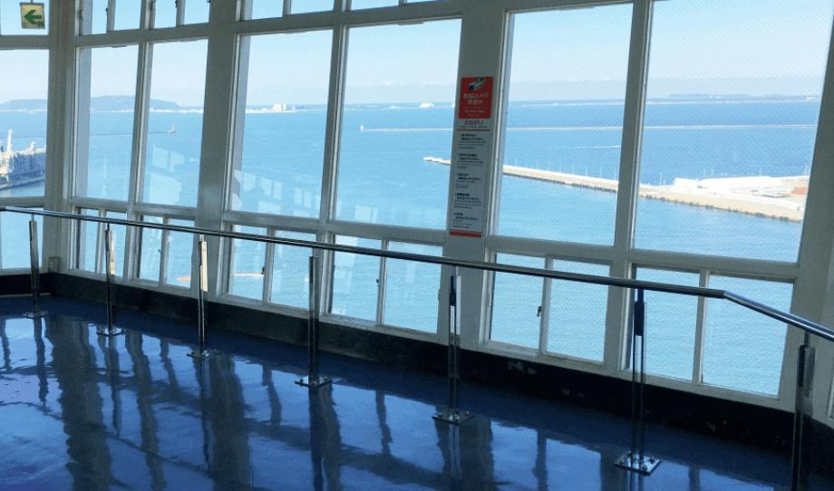博多ポートタワーの展望台