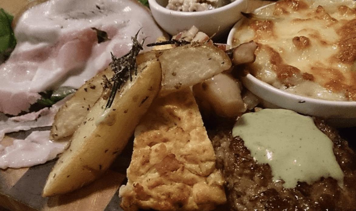 ガーブリーブスのディナー