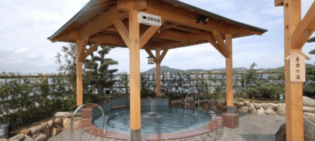 照葉スパの温泉