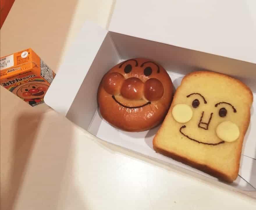アンパンマンミュージアム福岡の料理