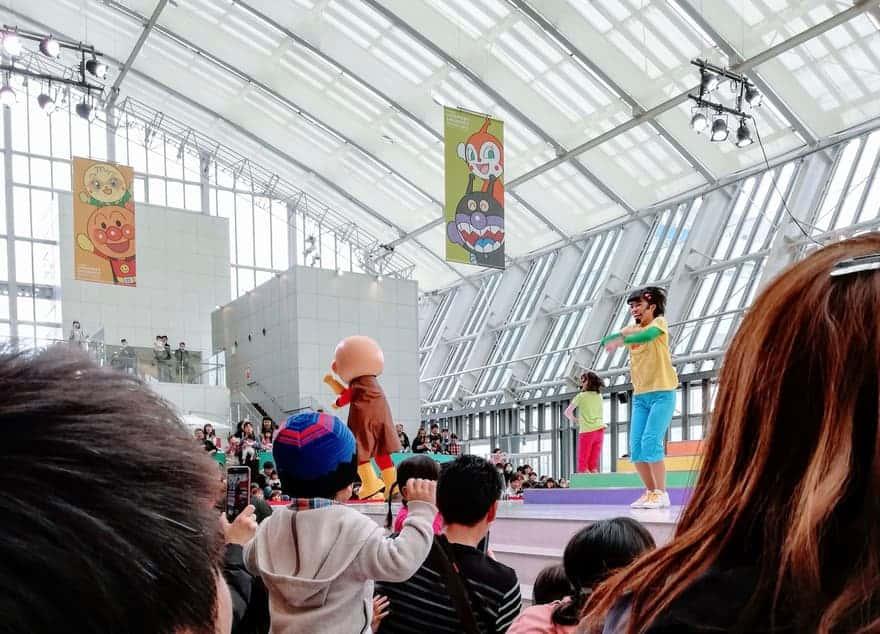 アンパンマンミュージアム福岡のステージイベント