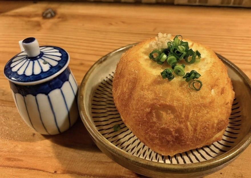 三原豆腐店の揚げ