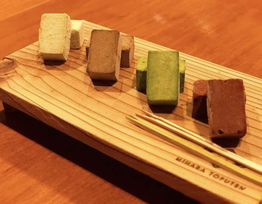 三原豆腐店の生チョコ