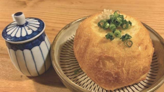 三原豆腐店の料理