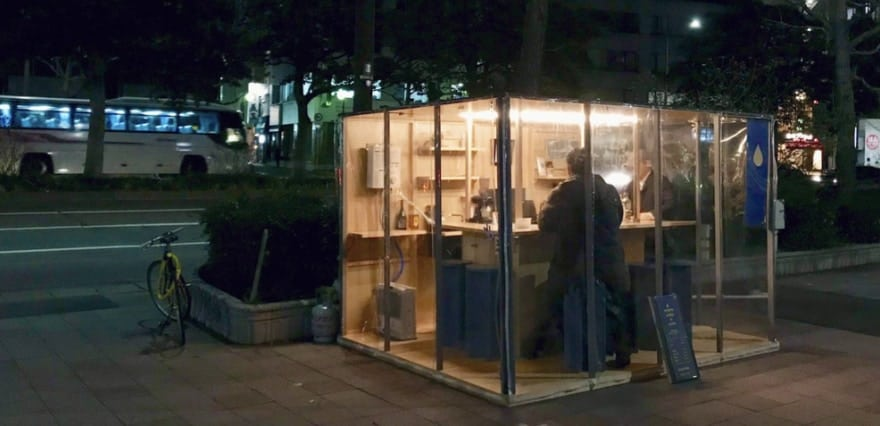 福岡のコーヒー屋台