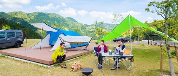福岡モンベルキャンプ場:五ケ山ベースキャンプ